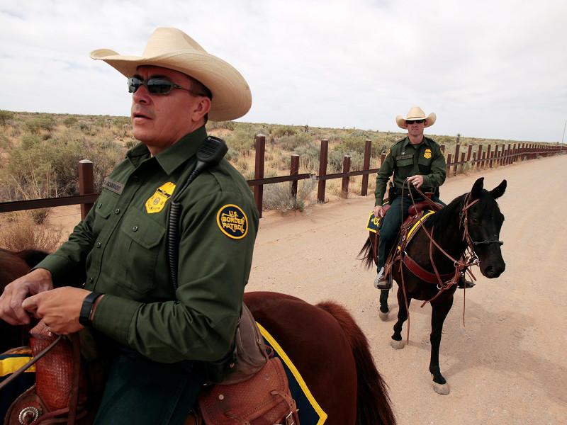 охрана американо-мексиканской границы